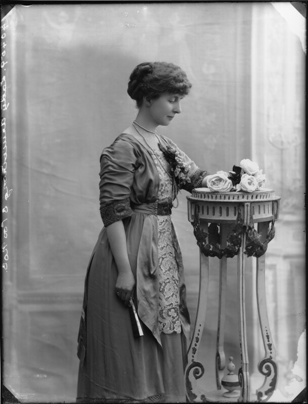 Winifreda Jane Watson-Armstrong (née Adye), Baroness Armstrong, by Bassano Ltd, 22 February 1911 - NPG x79815 - © National Portrait Gallery, London