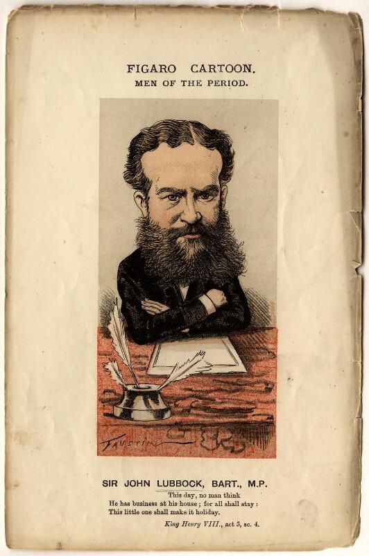 John Lubbock, 1st Baron Avebury, by Faustin Betbeder ('Faustin'), circa 1874 - NPG D10932 - © National Portrait Gallery, London