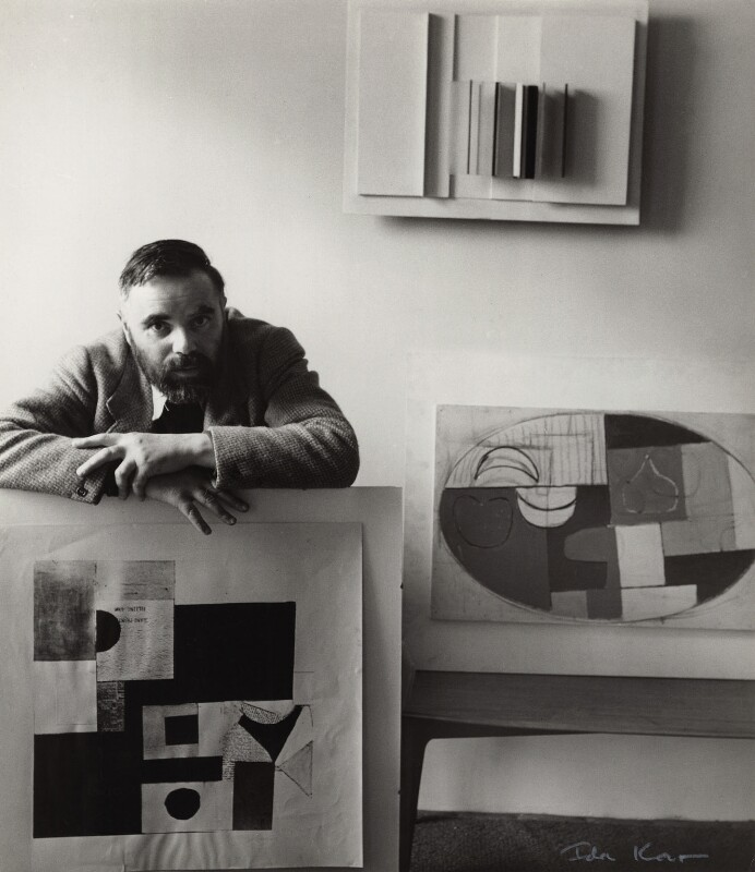 Victor Pasmore, by Ida Kar, 1954 - NPG x31648 - © National Portrait Gallery, London