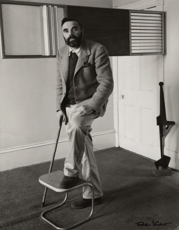 Victor Pasmore, by Ida Kar, 1954 - NPG x31660 - © National Portrait Gallery, London