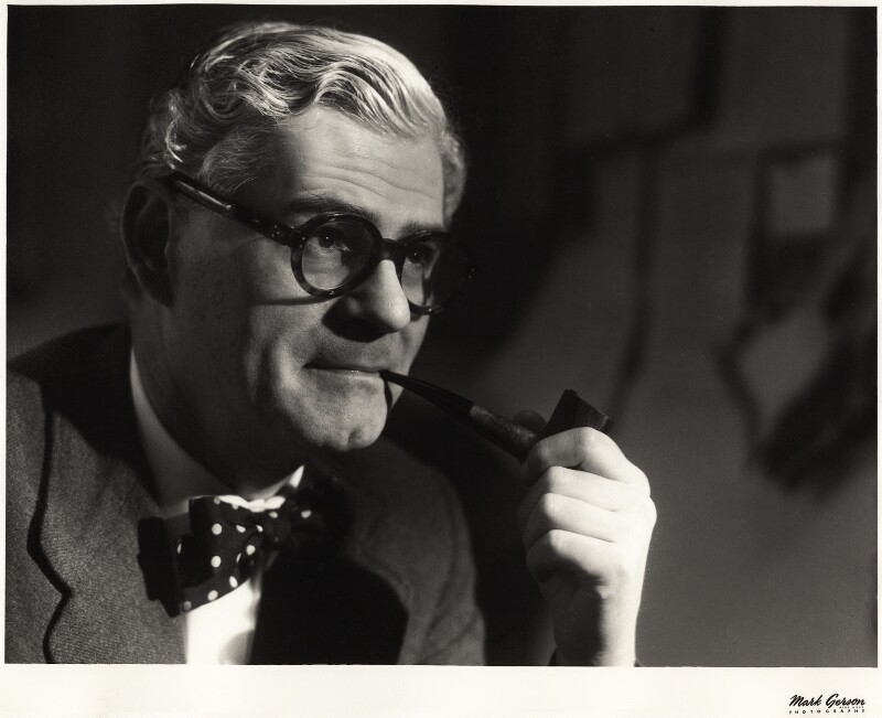 George Devine, by Mark Gerson, February 1958 - NPG x8026 - © Mark Gerson / National Portrait Gallery, London