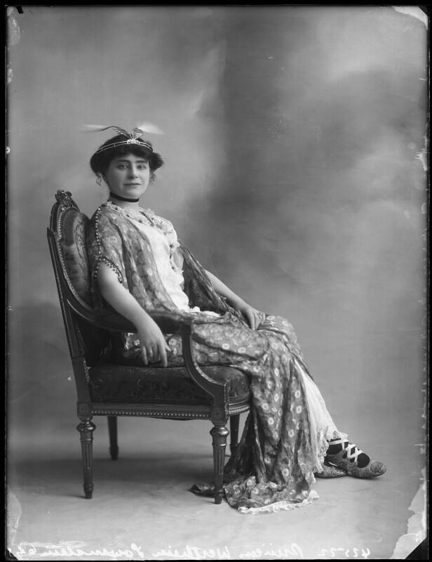 Princess Anne of Löwenstein-Wertheim-Freudenberg (née Lady Anne Savile), by Bassano Ltd, circa 1913 - NPG x80281 - © National Portrait Gallery, London