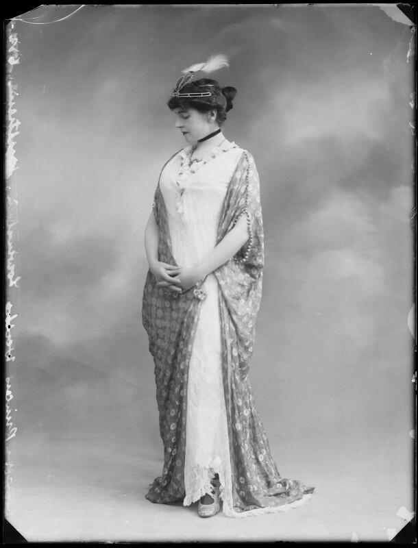 Princess Anne of Löwenstein-Wertheim-Freudenberg (née Lady Anne Savile), by Bassano Ltd, circa 1913 - NPG x80282 - © National Portrait Gallery, London