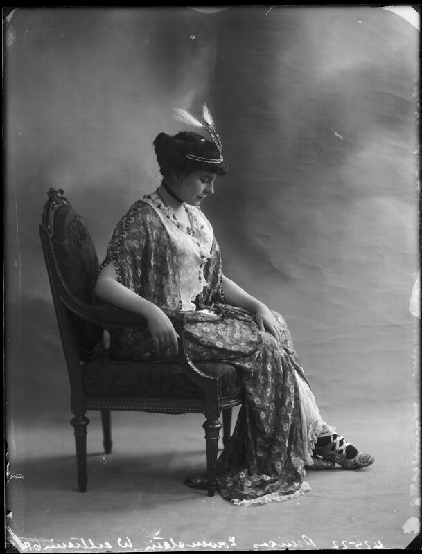 Princess Anne of Löwenstein-Wertheim-Freudenberg (née Lady Anne Savile), by Bassano Ltd, circa 1913 - NPG x80283 - © National Portrait Gallery, London