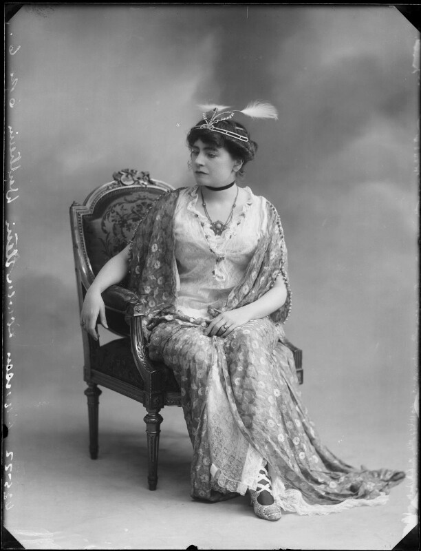 Princess Anne of Löwenstein-Wertheim-Freudenberg (née Lady Anne Savile), by Bassano Ltd, circa 1913 - NPG x80284 - © National Portrait Gallery, London