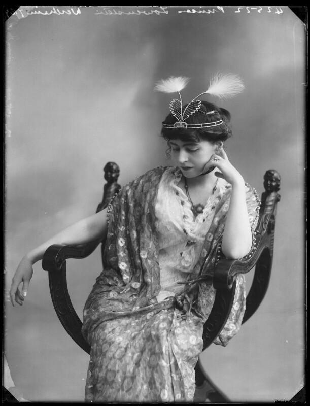 Princess Anne of Löwenstein-Wertheim-Freudenberg (née Lady Anne Savile), by Bassano Ltd, circa 1913 - NPG x80285 - © National Portrait Gallery, London
