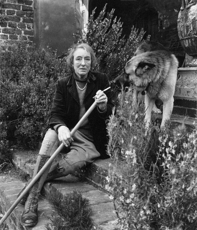 Vita Sackville-West, by Cecil Beaton, 1958 - NPG x14197 - © Cecil Beaton Studio Archive, Sotheby's London