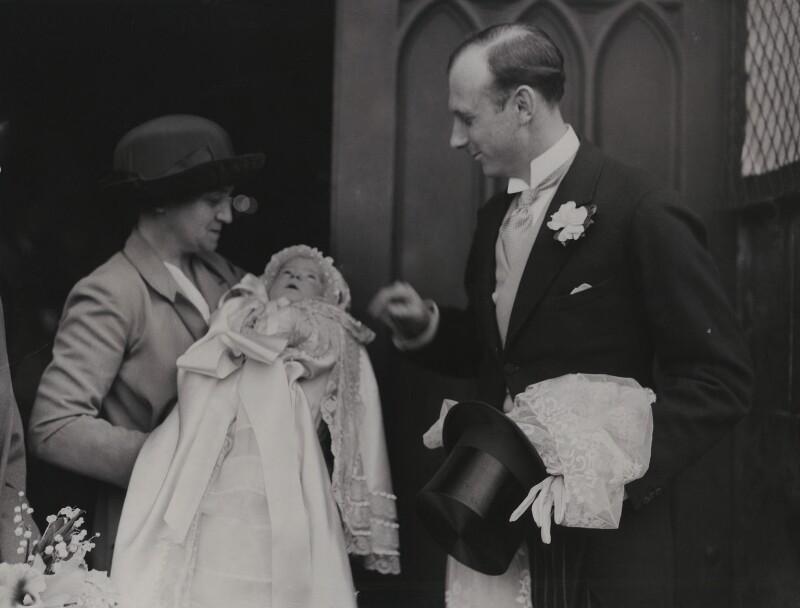 Sir John Lindsay Dashwood; Maud Helen Sarah Bruce (née Dashwood), Lady Aberdare, by Graphic Photo Union, circa 1924 - NPG x8039 - © National Portrait Gallery, London