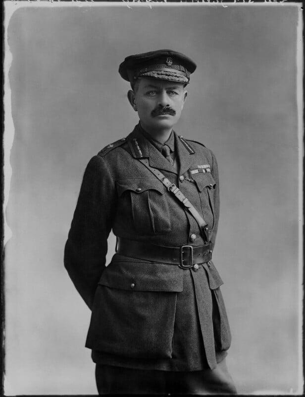 Julian Byng, 1st Viscount Byng of Vimy, by Bassano Ltd, 18 February 1915 - NPG x80515 - © National Portrait Gallery, London
