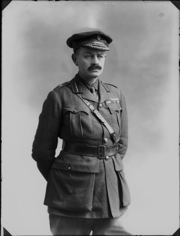 Julian Byng, 1st Viscount Byng of Vimy, by Bassano Ltd, 18 February 1915 - NPG x80517 - © National Portrait Gallery, London