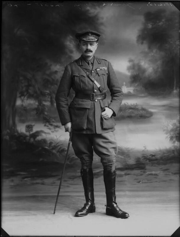 Julian Byng, 1st Viscount Byng of Vimy, by Bassano Ltd, 18 February 1915 - NPG x80518 - © National Portrait Gallery, London