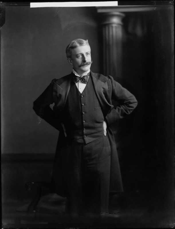 George Wyndham, by Henry Walter ('H. Walter') Barnett, 1903 - NPG x81408 - © National Portrait Gallery, London