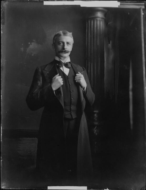 George Wyndham, by Henry Walter ('H. Walter') Barnett, 1903 - NPG x81409 - © National Portrait Gallery, London