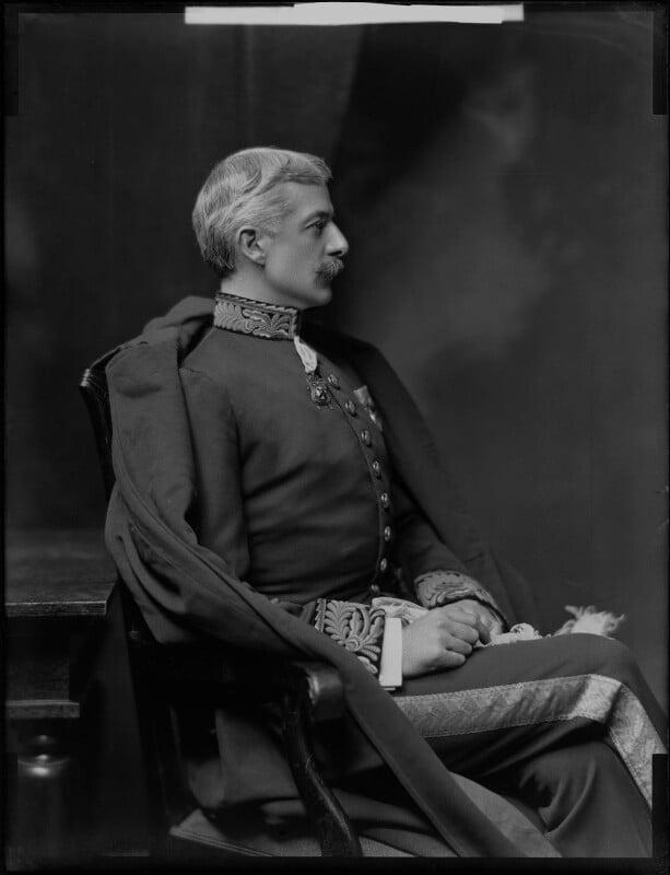 George Wyndham, by H. Walter Barnett, 1903 - NPG x81410 - © National Portrait Gallery, London
