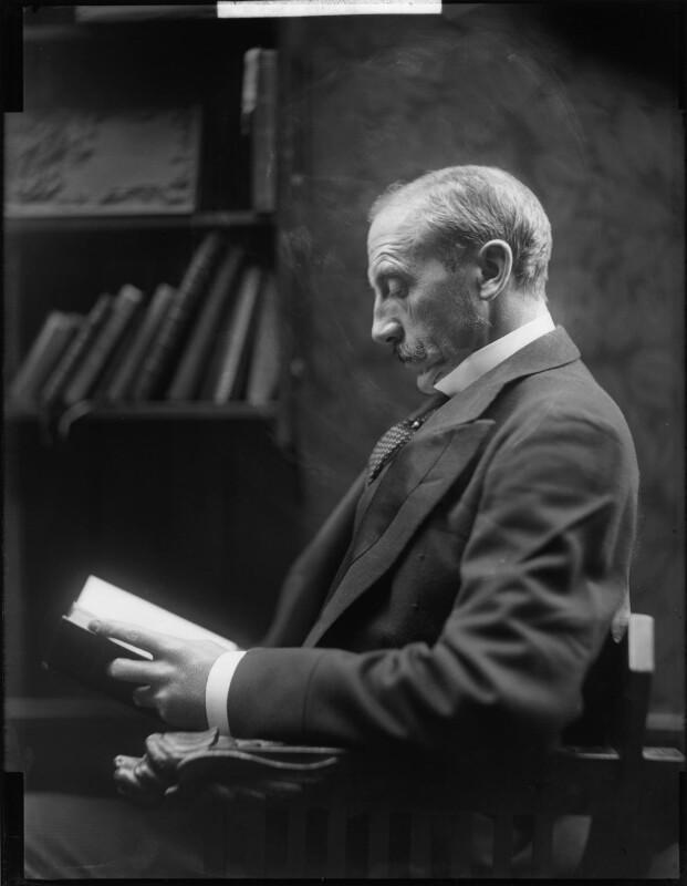 Alfred Milner, Viscount Milner, by H. Walter Barnett, early 1900s - NPG x81502 - © National Portrait Gallery, London