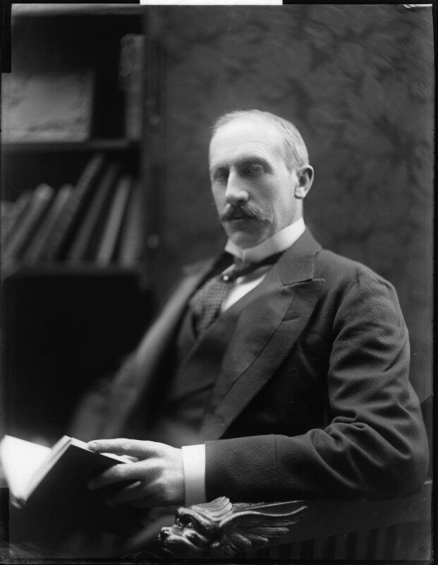 Alfred Milner, Viscount Milner, by H. Walter Barnett, early 1900s - NPG x81503 - © National Portrait Gallery, London