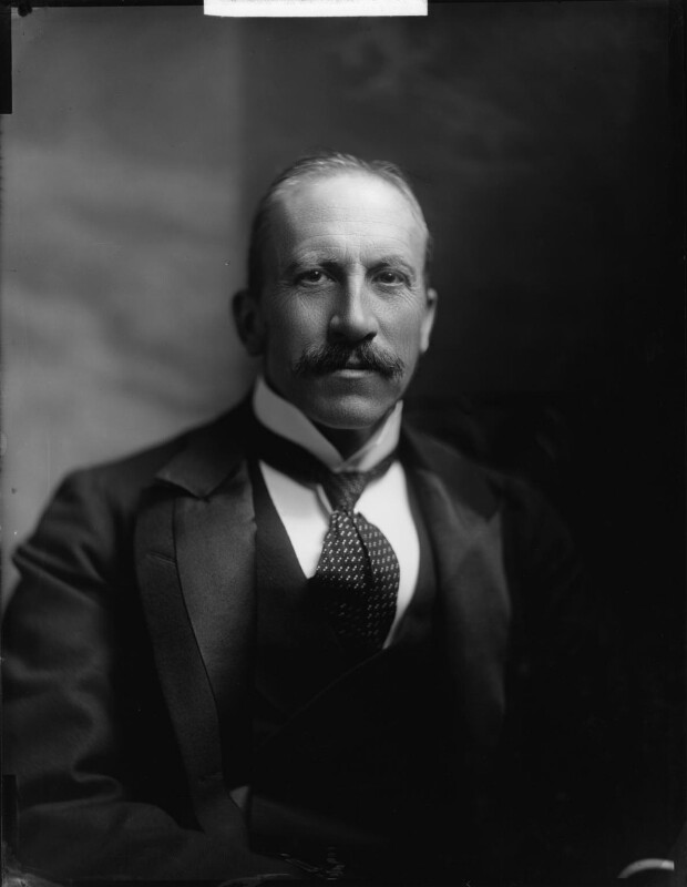 Alfred Milner, Viscount Milner, by Henry Walter ('H. Walter') Barnett, early 1900s - NPG x81505 - © National Portrait Gallery, London