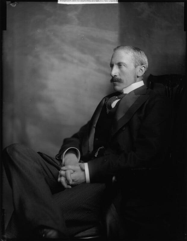 Alfred Milner, Viscount Milner, by Henry Walter ('H. Walter') Barnett, early 1900s - NPG x81507 - © National Portrait Gallery, London