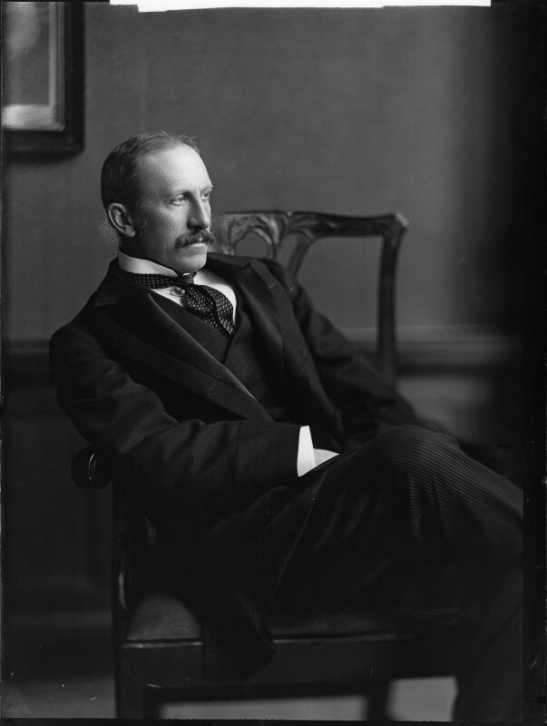 Alfred Milner, Viscount Milner, by Henry Walter ('H. Walter') Barnett, early 1900s - NPG x81508 - © National Portrait Gallery, London