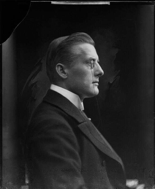 Sir (Joseph) Austen Chamberlain, by H. Walter Barnett, circa 1908 - NPG x81544 - © National Portrait Gallery, London