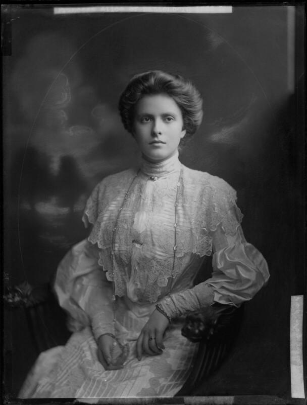 Princess Alice of Greece and Denmark, by Henry Walter ('H. Walter') Barnett, 1903 - NPG x81594 - © National Portrait Gallery, London