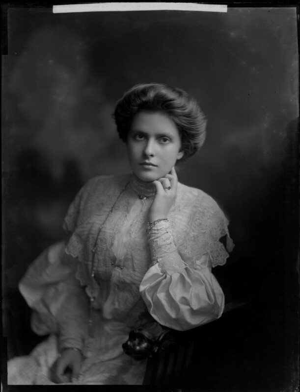 Princess Alice of Greece and Denmark, by Henry Walter ('H. Walter') Barnett, 1903 - NPG x81595 - © National Portrait Gallery, London
