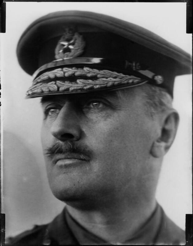 Edmund Henry Hynman Allenby, 1st Viscount Allenby, by Henry Walter ('H. Walter') Barnett, 1900-1920 - NPG x81622 - © National Portrait Gallery, London