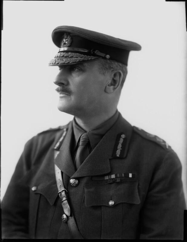 Edmund Henry Hynman Allenby, 1st Viscount Allenby, by Henry Walter ('H. Walter') Barnett, 1900-1920 - NPG x81624 - © National Portrait Gallery, London