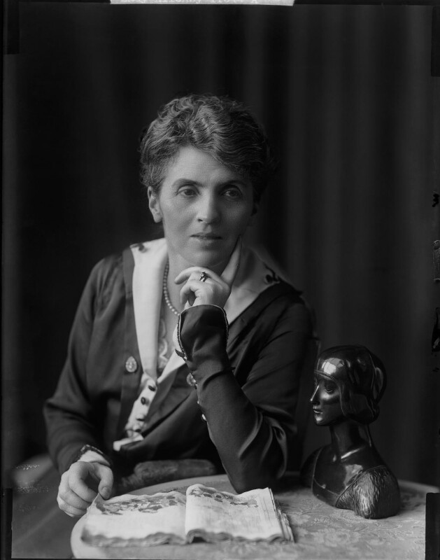 Adelaide Mabel Allenby (née Chapman), Viscountess Allenby of Megiddo, by H. Walter Barnett, 1900-1920 - NPG x81626 - © National Portrait Gallery, London