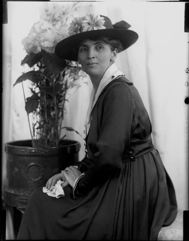 Adelaide Mabel Allenby (née Chapman), Viscountess Allenby of Megiddo, by H. Walter Barnett, 1900-1920 - NPG x81630 - © National Portrait Gallery, London