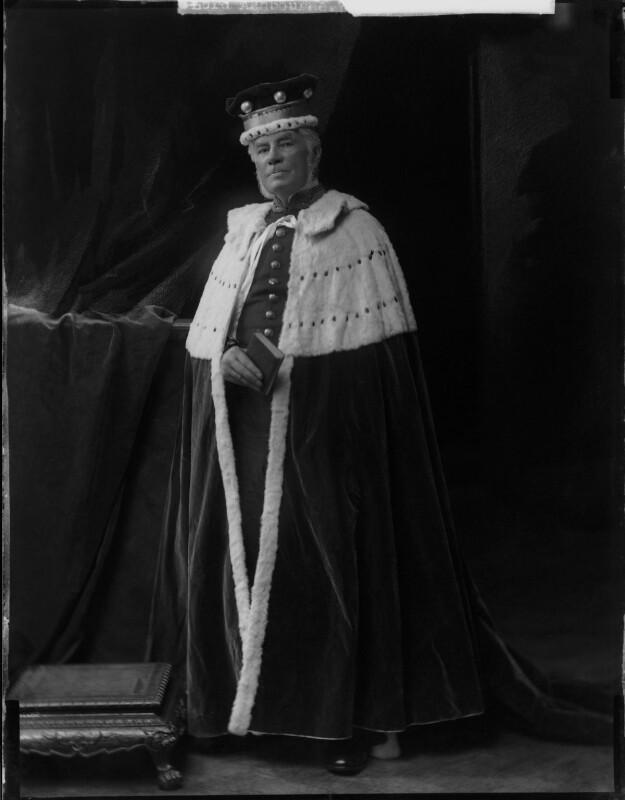 Edward Gibson, 1st Baron Ashbourne, by Henry Walter ('H. Walter') Barnett, 1900s - NPG x81631 - © National Portrait Gallery, London