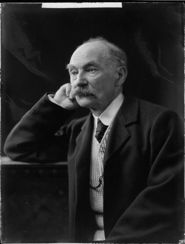 Thomas Hardy, by H. Walter Barnett, 1909 - NPG x81690 - © National Portrait Gallery, London