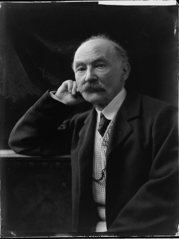 Thomas Hardy, by H. Walter Barnett, 1909 - NPG x81691 - © National Portrait Gallery, London