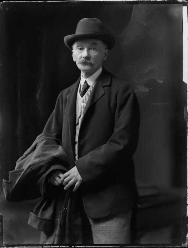 Thomas Hardy, by H. Walter Barnett, 1909 - NPG x81694 - © National Portrait Gallery, London