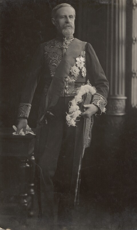 John Campbell Hamilton-Gordon, 1st Marquess of Aberdeen and Temair, by Henry Walter ('H. Walter') Barnett, 1910-1920 - NPG x45244 - © National Portrait Gallery, London