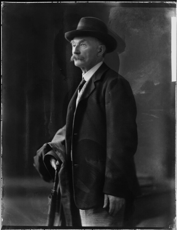 Thomas Hardy, by H. Walter Barnett, 1909 - NPG x81697 - © National Portrait Gallery, London