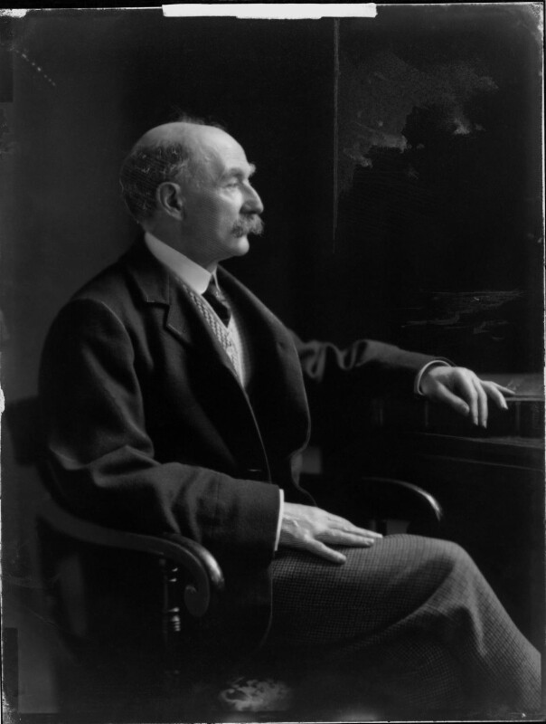 Thomas Hardy, by H. Walter Barnett, 1909 - NPG x81698 - © National Portrait Gallery, London
