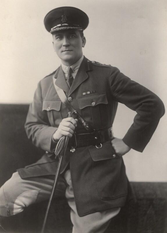 Sir John Atkins, by Henry Walter ('H. Walter') Barnett, 1910-1920 - NPG x45251 - © National Portrait Gallery, London