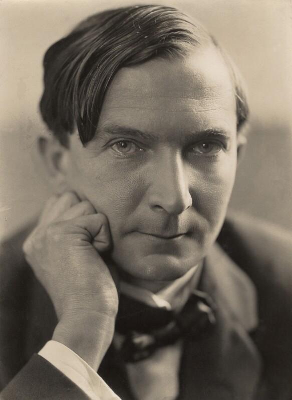 Stacy Aumonier, by Oscar Hardee (Oscar Hardee Blyfield), for  H. Walter Barnett, early 1920s - NPG x45252 - © National Portrait Gallery, London