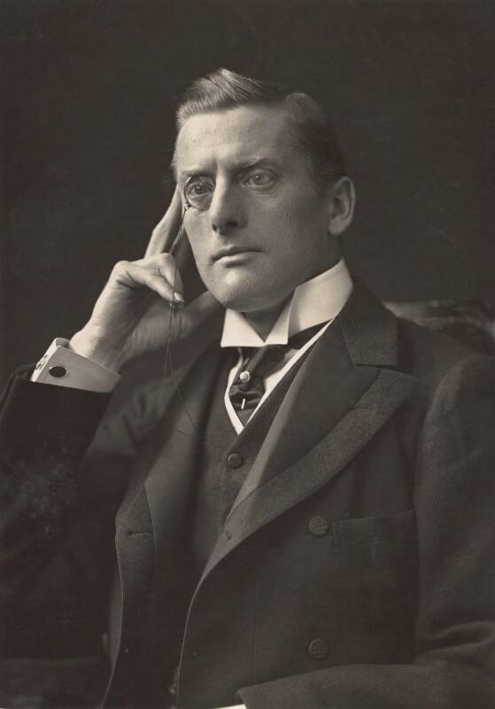 NPG x45260; Sir (Joseph) Austen Chamberlain - Portrait - National Portrait  Gallery
