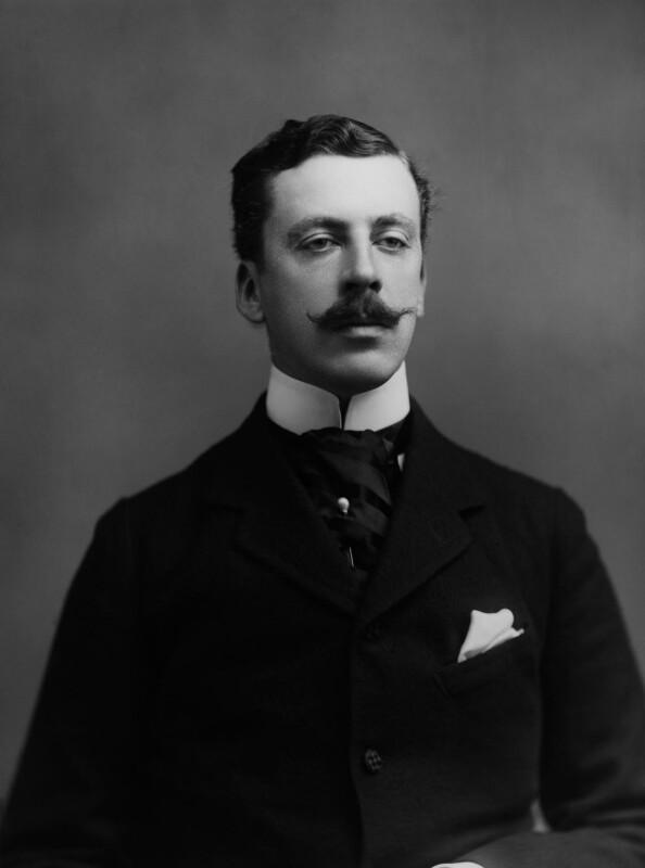James Albert Edward Hamilton, 3rd Duke of Abercorn, by Alexander Bassano, 1894 - NPG x8337 - © National Portrait Gallery, London