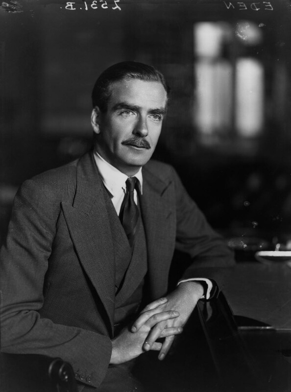 Anthony Eden, 1st Earl of Avon, by Walter Stoneman, June 1941 - NPG x8369 - © National Portrait Gallery, London