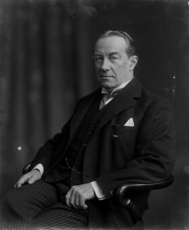 Stanley Baldwin, 1st Earl Baldwin, by Vandyk, 1 February 1927 - NPG x8518 - © National Portrait Gallery, London