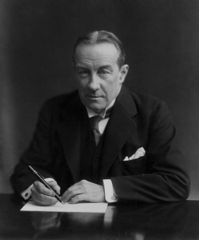 Stanley Baldwin, 1st Earl Baldwin, by Vandyk, 1 February 1927 - NPG x8520 - © National Portrait Gallery, London