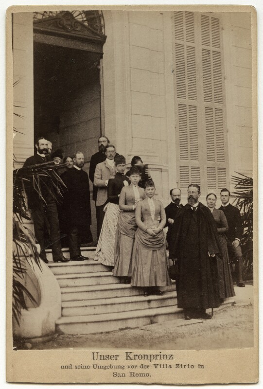 Frederick III, Emperor of Germany and King of Prussia and family, by Unknown photographer, 1870s-1900s - NPG x87019 - © National Portrait Gallery, London