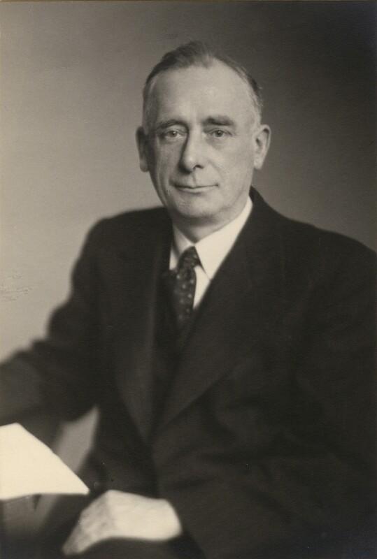 Sir Herbert Holdsworth, by Walter Stoneman, June 1945 - NPG x87057 - © National Portrait Gallery, London