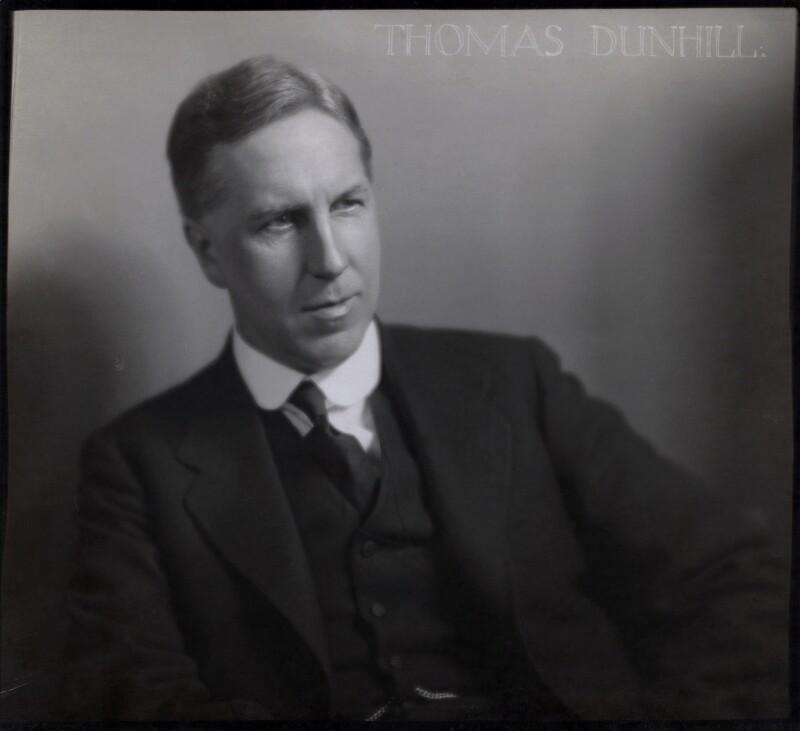 Thomas Frederick Dunhill, by Herbert Lambert, 1920-1936 - NPG x87142 - © National Portrait Gallery, London