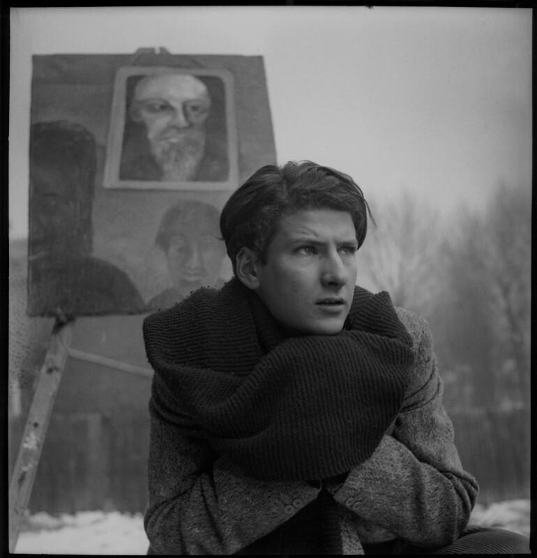 Lucian Freud, by Francis Goodman, circa 1945 - NPG x87290 - © National Portrait Gallery, London