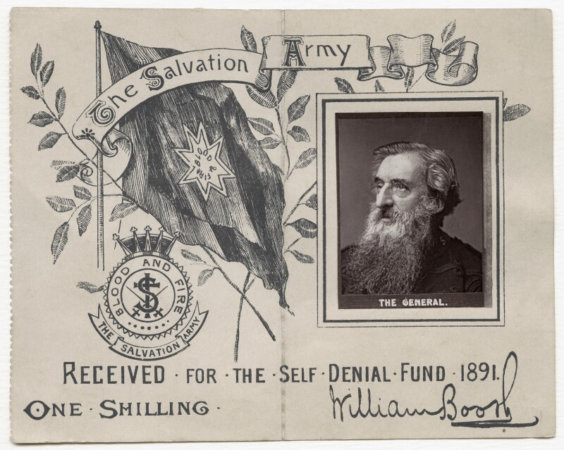 William Booth, by Unknown photographer, circa 1891 - NPG x87427 - © National Portrait Gallery, London