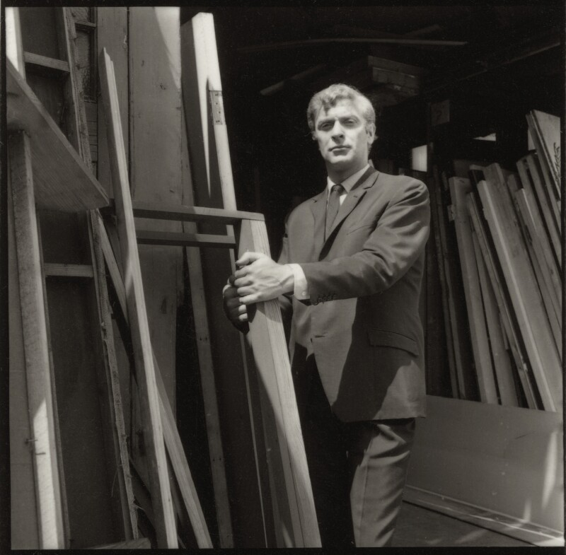 Michael Caine, by Francis Goodman, July 1965 - NPG x87457 - © National Portrait Gallery, London